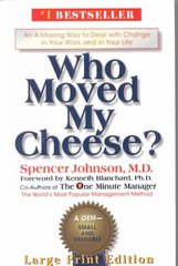 Who Moved My Cheese 1st Edition 9780399147241 0399147241