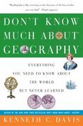 Don't Know Much about Geography 0 9780380713790 0380713799