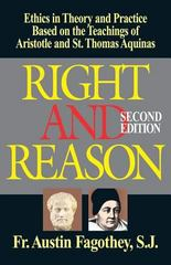 Right and Reason 2nd Edition 9780895556684 0895556685