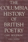 The Columbia History of British Poetry 0 9780231078382 0231078382