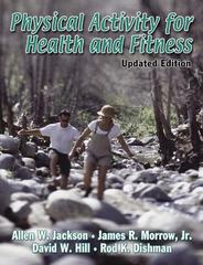 Physical Activity for Health and Fitness - Updated Edition 0 9780736052054 0736052054