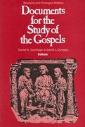 Documents for the Study of the Gospels 1st Edition 9780800628093 0800628098