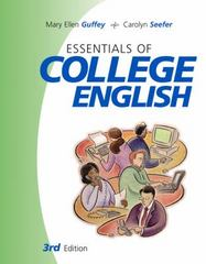 Essentials of College English 3rd edition 9780324201505 0324201508