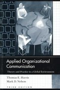 Applied Organizational Communication 3rd Edition 9781410618160 1410618161