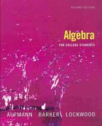Algebra for College Students 2nd edition 9780618824946 0618824944