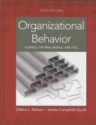 Organizational Behavior 6th edition 9780324578737 0324578733