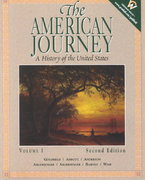 The American Journey 2nd edition 9780130882448 0130882445