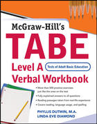 TABE Level A Verbal Workbook 1st edition 9780071594295 0071594299
