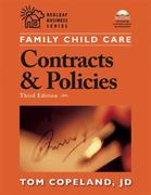 Family Child Care Contracts and Policies 3rd Edition 9781929610792 1929610793