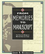 From Memories to Manuscript 0 9780916489564 0916489566