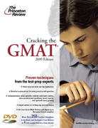 Cracking the GMAT with DVD, 2009 Edition 0 9780375428593 0375428593