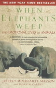 When Elephants Weep 0 9780385314282 0385314280