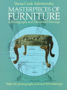 Masterpieces of Furniture in Photographs and Measured Drawings 1st Edition 9780486170220 0486170225