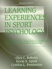 Learning Experiences in Sport Psychology 2nd edition 9780880119320 0880119322