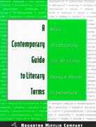 A Contemporary Guide to Literary Terms 3rd edition 9780395742051 0395742056
