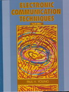 Electronic Communication Techniques 5th edition 9780130482853 0130482854