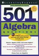 501 Algebra Questions 2nd edition 9781576855522 157685552X
