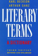 Literary Terms 3rd edition 9780374521776 0374521778