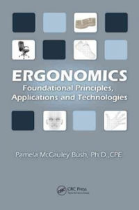Ergonomics 1st Edition 9781439804452 1439804451