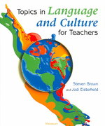 Topics in Language and Culture for Teachers 0 9780472089161 0472089161