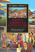 The Cambridge Companion to Native American Literature 0 9780521822831 0521822831