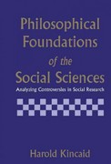 Philosophical Foundations of the Social Sciences 0 9780521482684 0521482682