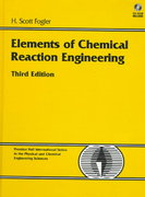 Elements of Chemical Reaction Engineering 3rd edition 9780135317082 0135317088