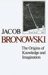 The Origins of Knowledge and Imagination 0 9780300024098 0300024096