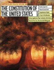 The HarperCollins College Outline Constitution of the United States 13th Edition 9780064671057 0064671054