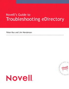 Novell's Guide to Troubleshooting eDirectory 1st edition 9780768665901 0768665906