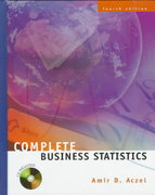 Complete Business Statistics 4th edition 9780072286816 0072286814