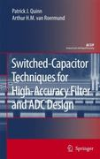 Switched-Capacitor Techniques for High-Accuracy Filter and ADC Design 1st edition 9781402062575 1402062575