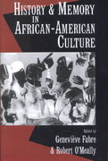 History and Memory in African-American Culture 1st Edition 9780195083972 0195083970