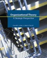 Organizational Theory 1st edition 9781592602599 1592602592
