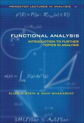 Functional Analysis 0 9780691113876 0691113874