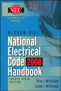 McGraw-Hill National Electrical Code 2008 Handbook, 26th Ed. 26th edition 9780071546522 0071546529