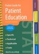 Pocket Guide for Patient Education 4th edition 9780763741556 0763741558