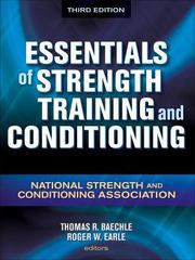 Essentials of Strength Training and Conditioning 3rd Edition 9781450429375 1450429378