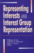 Representing Interests and Interest Group Representation 0 9780819194596 081919459X