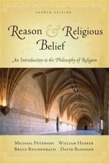 Reason and Religious Belief 4th edition 9780195335996 0195335996