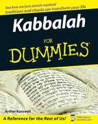Kabbalah For Dummies 1st Edition 9780471915904 0471915904
