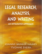 Legal Research, Analysis, and Writing 0 9780132447997 0132447991