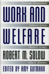 Work and Welfare: 1st edition 9780691058832 0691058830