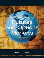 Fundamentals of Options and Futures 6th Edition 9780132242264 0132242265