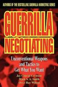 Guerrilla Negotiating 1st edition 9780471330219 0471330213