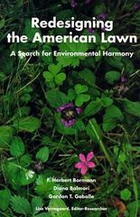 Redesigning the American Lawn 1st Edition 9780300061970 0300061978