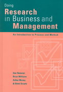 Doing Research in Business and Management 1st edition 9780761959496 0761959491