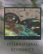 International Economics 10th edition 9780256140262 025614026X