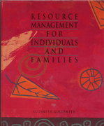 Resource Management for Individuals and Families 1st edition 9780314044655 0314044655