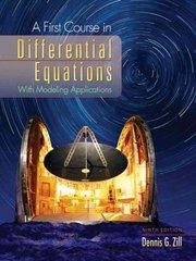 A First Course in Differential Equations with Modeling Applications 9th Edition 9780495108245 0495108243